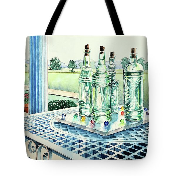 Marbles On Marble Tote Bag