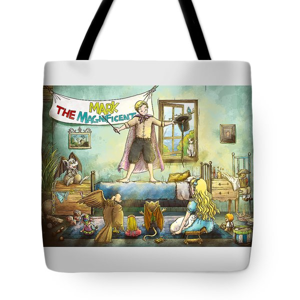 Mark The Magnificent Tote Bag by Reynold Jay