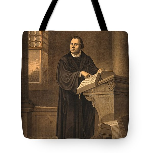 Martin Luther, German Theologian Tote Bag