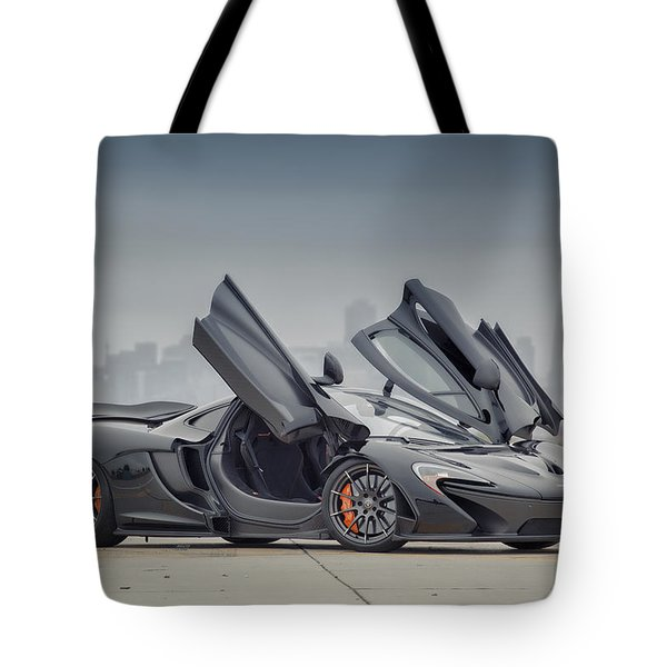 Tote Bag featuring the photograph Mclaren P1 by ItzKirb Photography