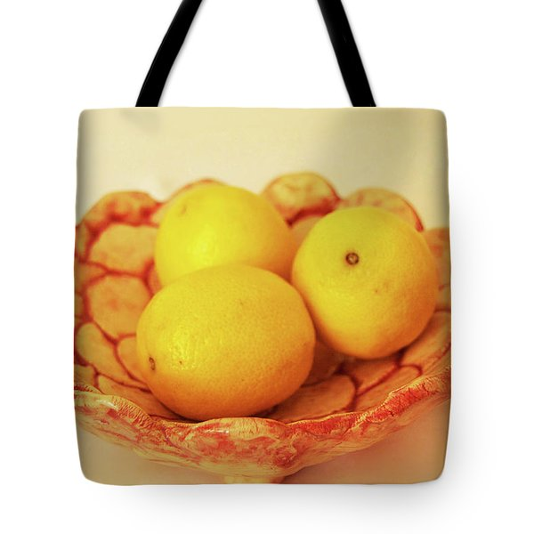 Medium Patches Bowl1 Tote Bag by Itzhak Richter