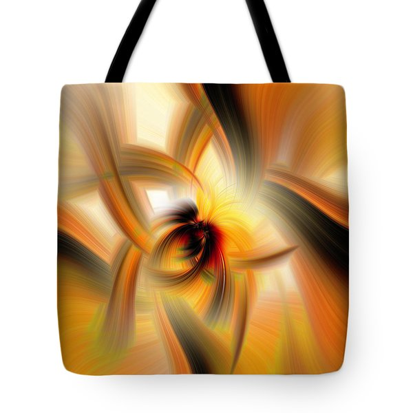 Mellow Yellow Tote Bag by Cathy Donohoue