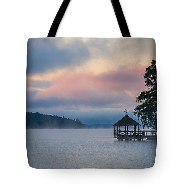 Meredith New Hampshire Tote Bag