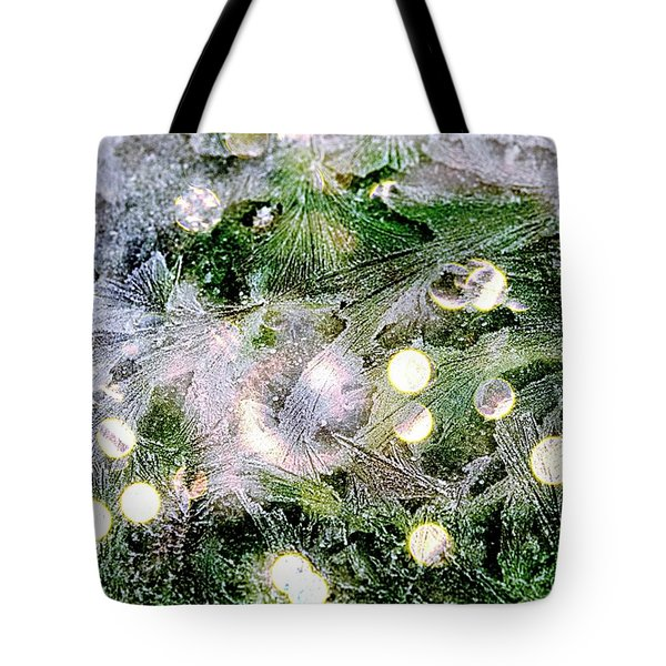 Merry Christmas Background Tote Bag
