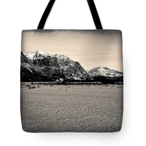 Mile High Cliffs Tote Bag