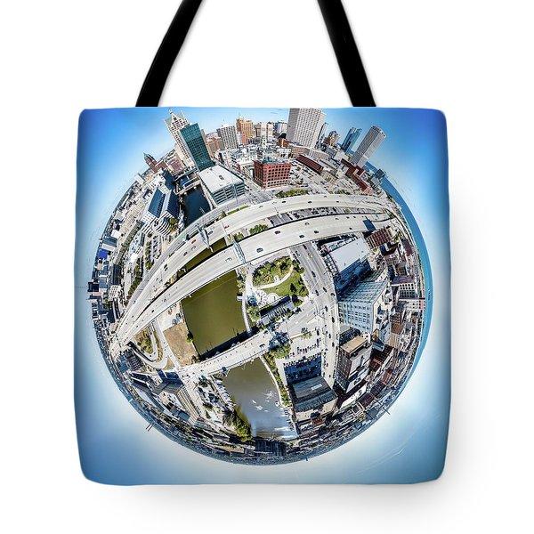 Milwaukee Riverwalk Tote Bag