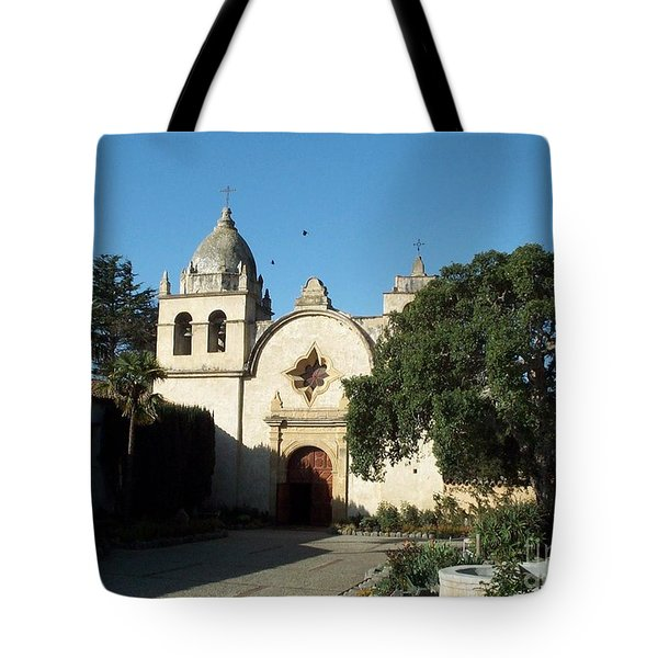 Mission Carmel Tote Bag