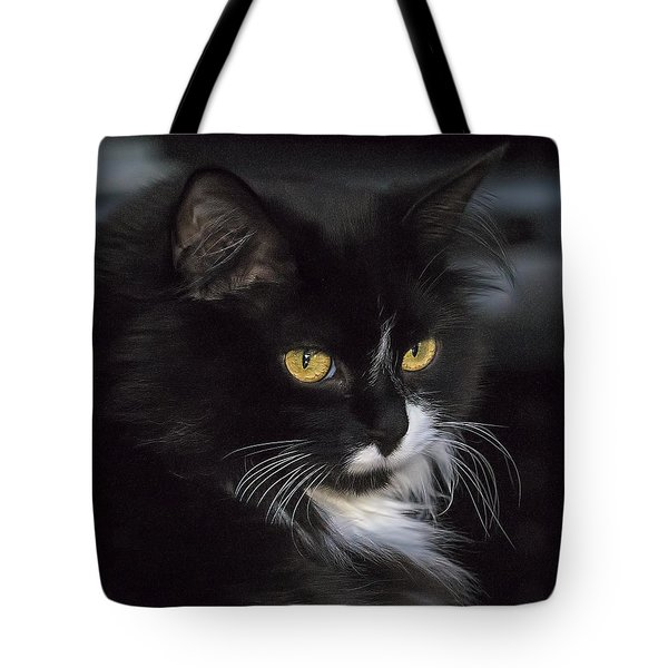 Tote Bag featuring the photograph Mitzie by Susi Stroud