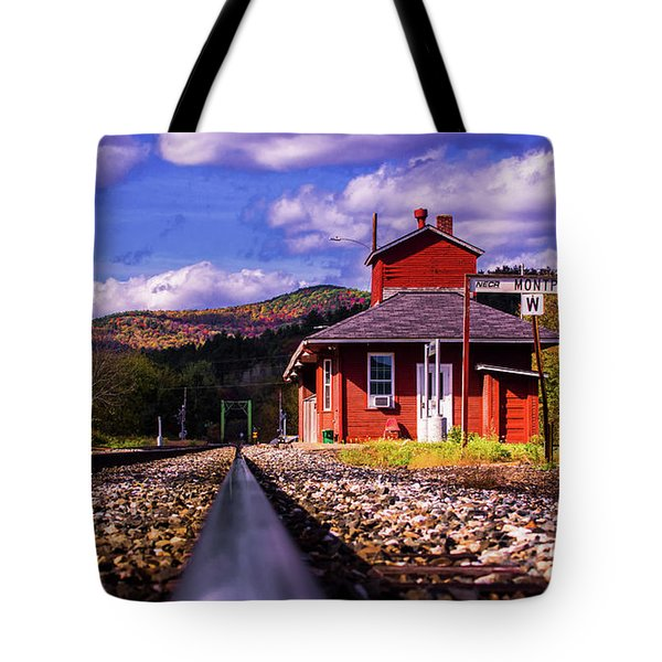 Montpelier Vermont Tote Bag