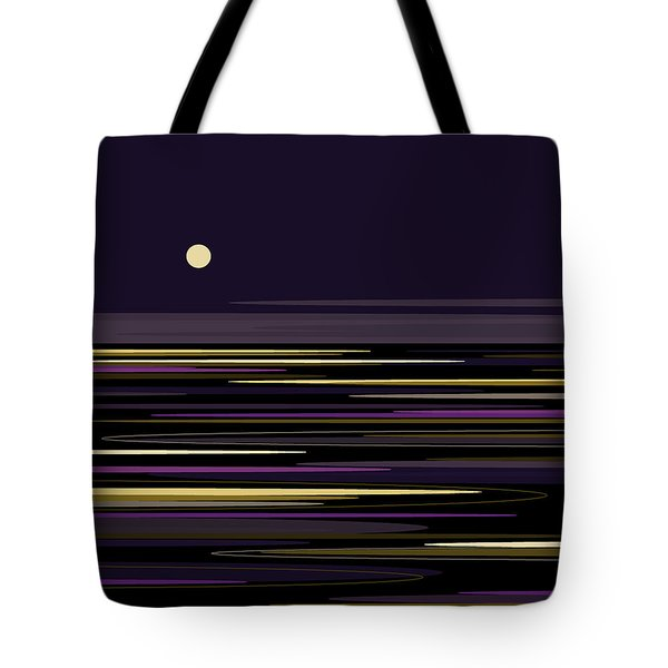 Moonlight Bay Tote Bag by Val Arie
