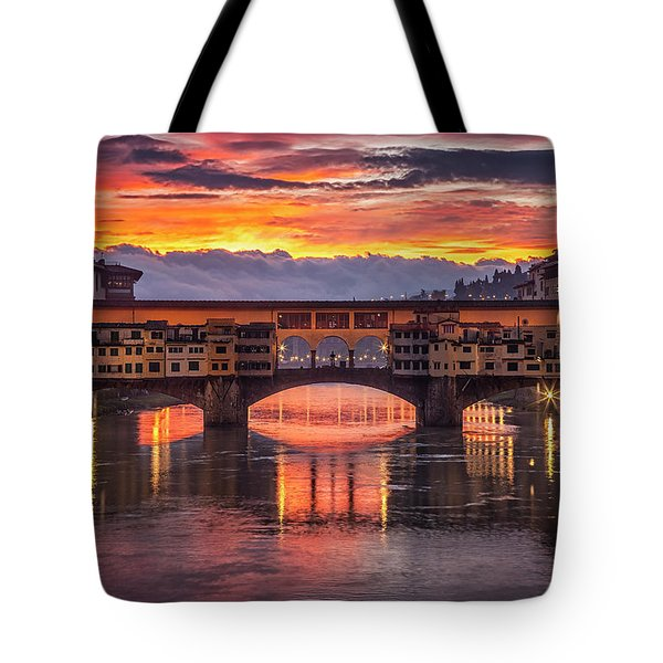 Tote Bag featuring the photograph Morning Drama by Andrew Soundarajan