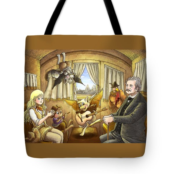 Ned Buntline Tote Bag by Reynold Jay