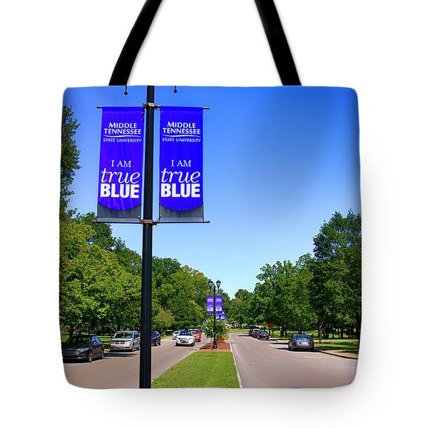 Mtsu Murfreesboro Tn, Usa Tote Bag
