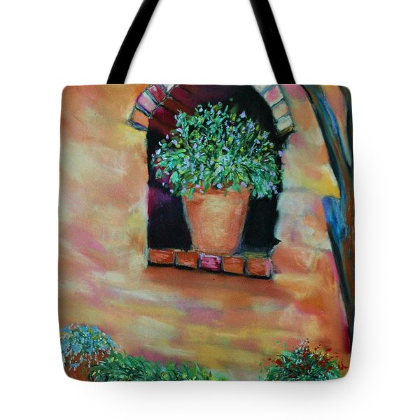 Nash's Courtyard Tote Bag