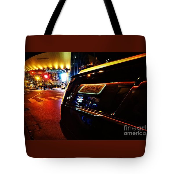 Nashville Night Tote Bag