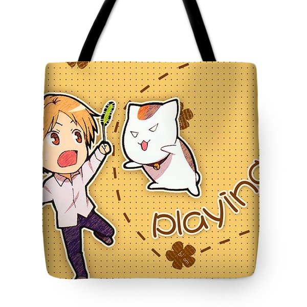 Natsume's Book Of Friends Tote Bag