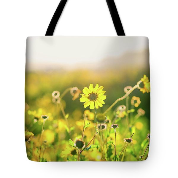 Nature's Smile Series Tote Bag by Joseph S Giacalone