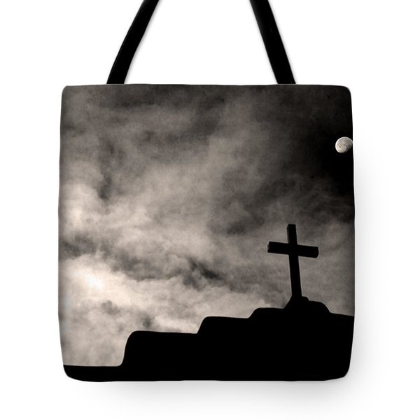 New Mexico Moon Tote Bag