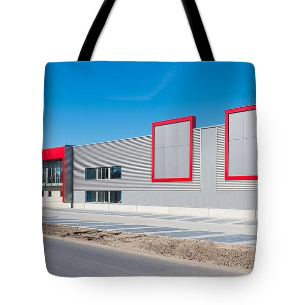 Tote Bag featuring the photograph New Office Building by Hans Engbers