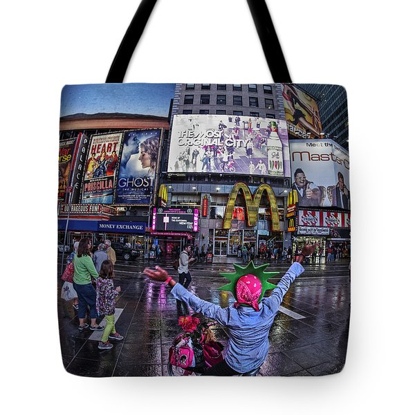 Tote Bag featuring the photograph New York Soho  by Juergen Held