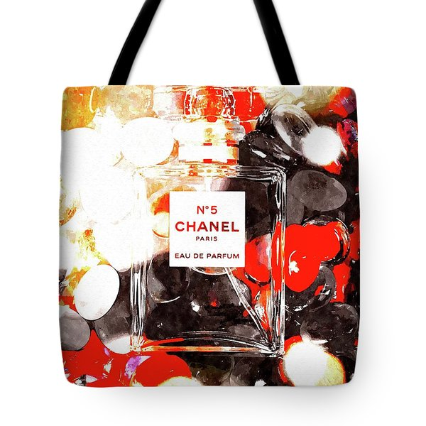 No. 5 Tote Bag by Daniel Janda