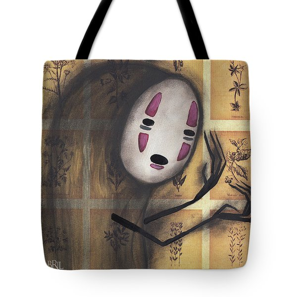No Face Tote Bag by Abril Andrade Griffith