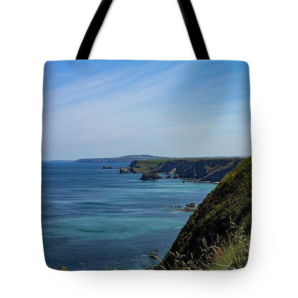 Tote Bag featuring the photograph North Coast Cornwall by Brian Roscorla