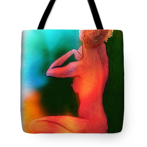 Nude Woman Tote Bag by Svelby Art