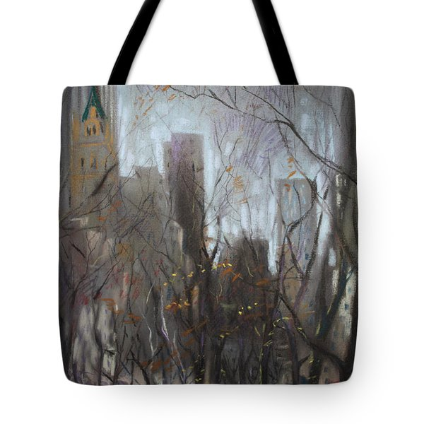 Nyc Central Park Tote Bag by Ylli Haruni