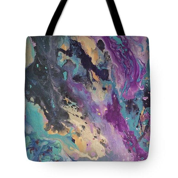 Ocean Floor Tote Bag by Margalit Romano