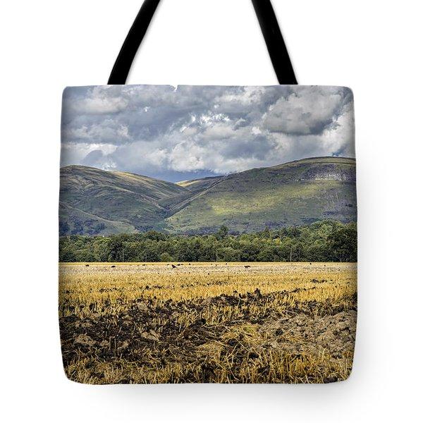 Ochil Hills Tote Bag
