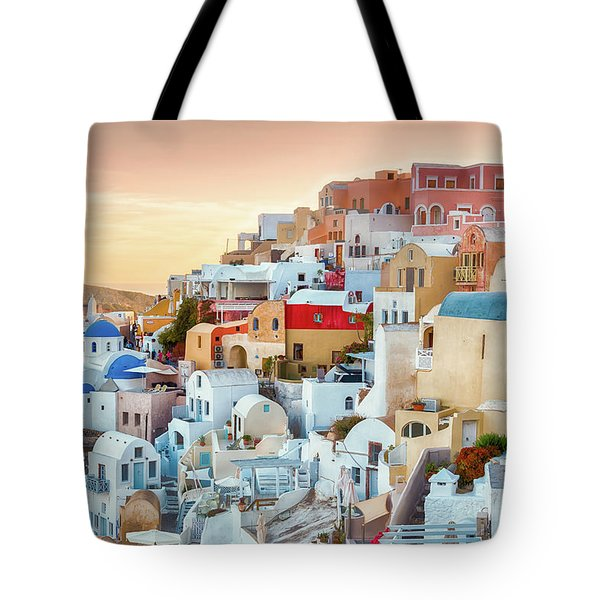 Oia, Santorini - Greece Tote Bag