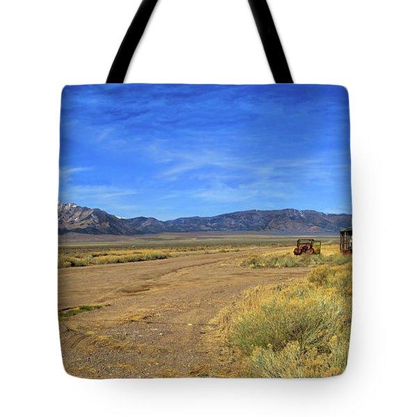 Old Homestead Tote Bag by Robert Bales