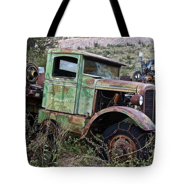 Old Truck Tote Bag by Anthony Jones