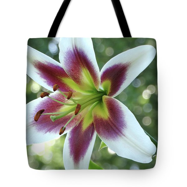 Oriental Lily Tote Bag