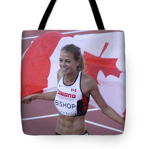 Pam Am Games. Athletics Tote Bag