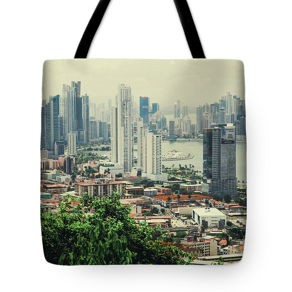 Panama City Tote Bag