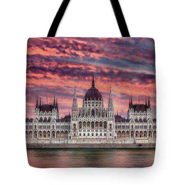 Pink Parliament Tote Bag