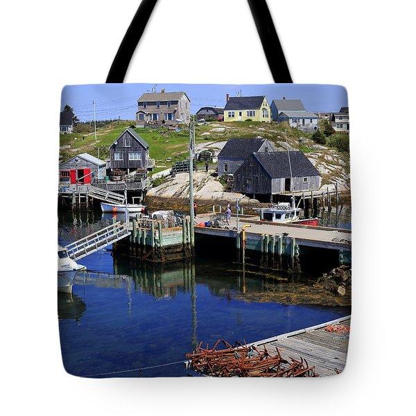Peggy's Cove, Nova Scotia, Canada Tote Bag