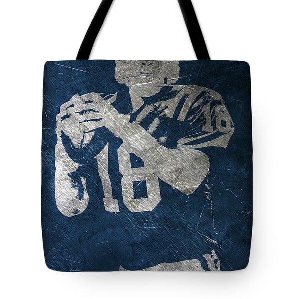 Peyton Manning Colts Tote Bag