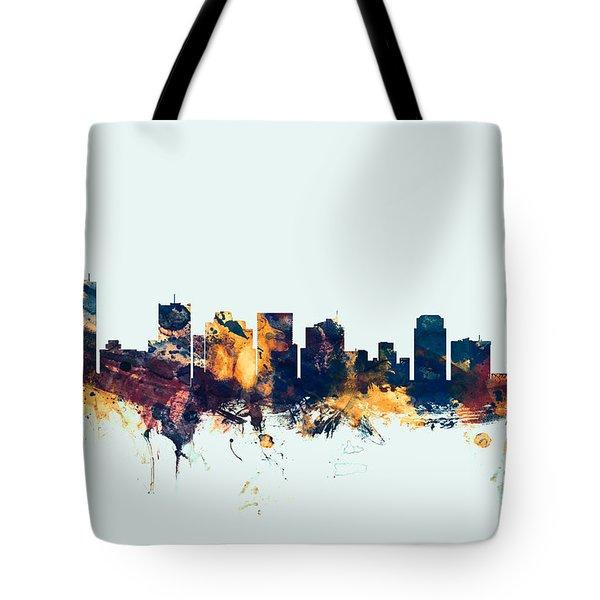 Phoenix Arizona Skyline Tote Bag
