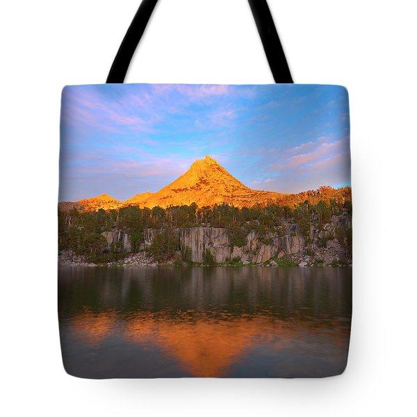 Pinnacle Sunset Tote Bag