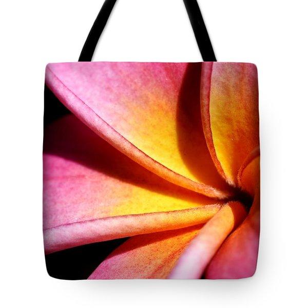 Plumeria Flower Tote Bag