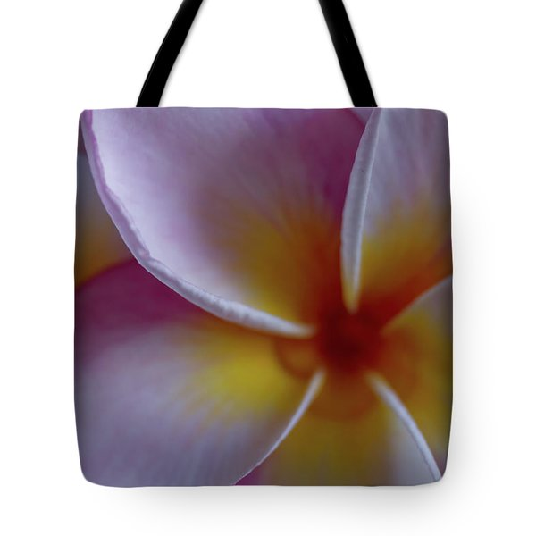 Tote Bag featuring the photograph Plumeria by Roger Mullenhour