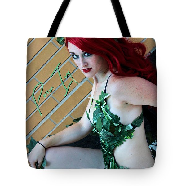 Poison Ivy -cosplay Tote Bag