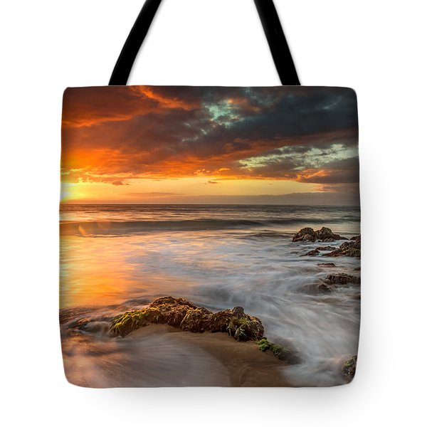 Poolenalena Sunset Tote Bag
