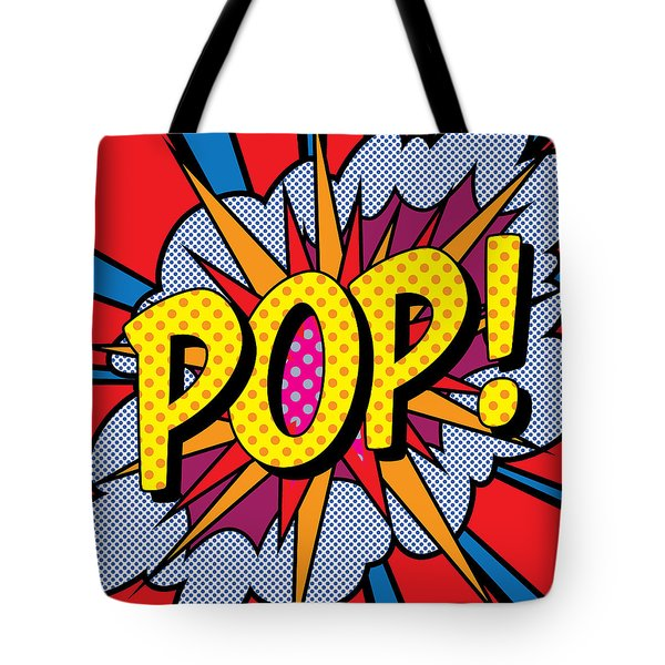 Pop Art - 4 Tote Bag