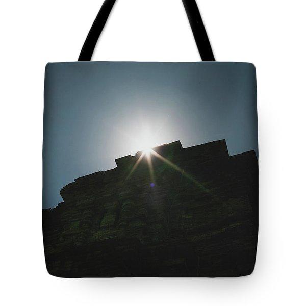 poshanu Tower Tote Bag
