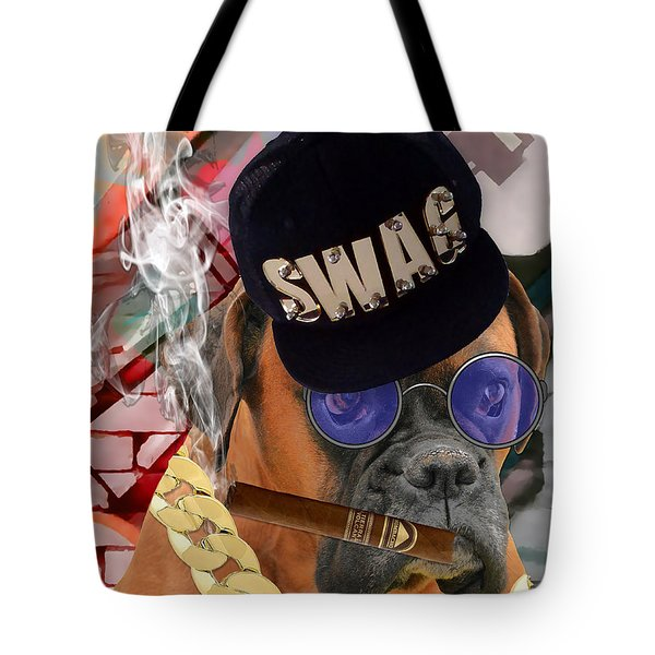 Tote Bag featuring the mixed media Power by Marvin Blaine