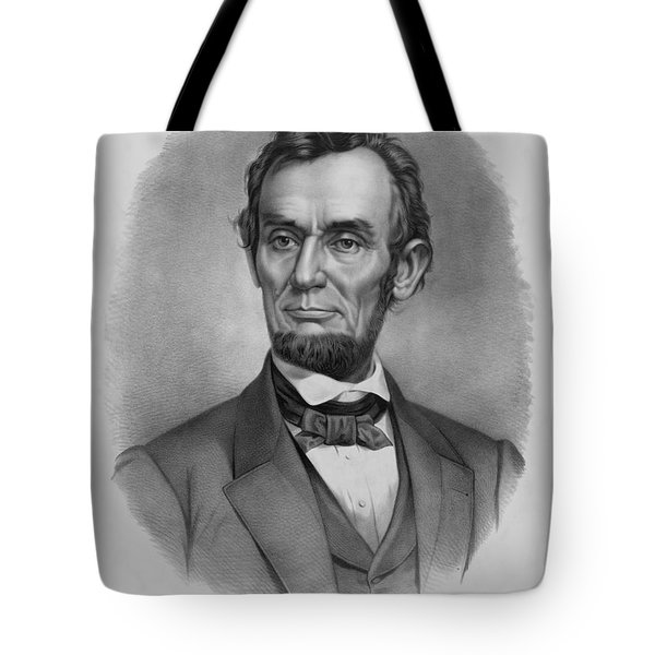President Lincoln Tote Bag